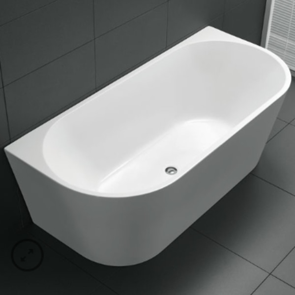 Amelie freestanding bath lucite acrylic