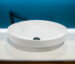 Solid Surface Basin Matte White Crown