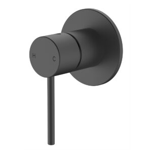 Wall mixer matte black eclipse