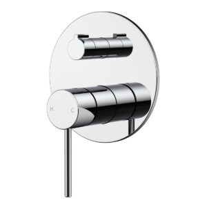 Wall mixer with diverter eclipse