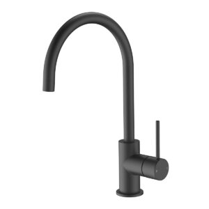 Kitchen mixer matte black eclipse