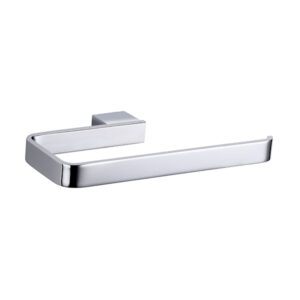 Elixir polished chrome hand towel rail