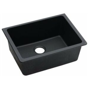 Granite Kitchen Sink Black Single Bowl