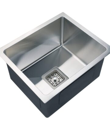Kitchen Sink Brushed Stainless Steel Single Bowl