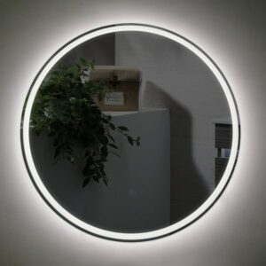 Bathroom LED Mirror Sphere 600