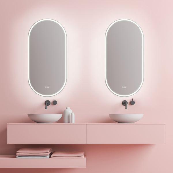 Gatsby LED Mirror with Demister