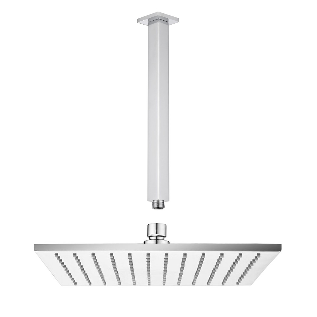 Ceiling Arm & Shower Head Square