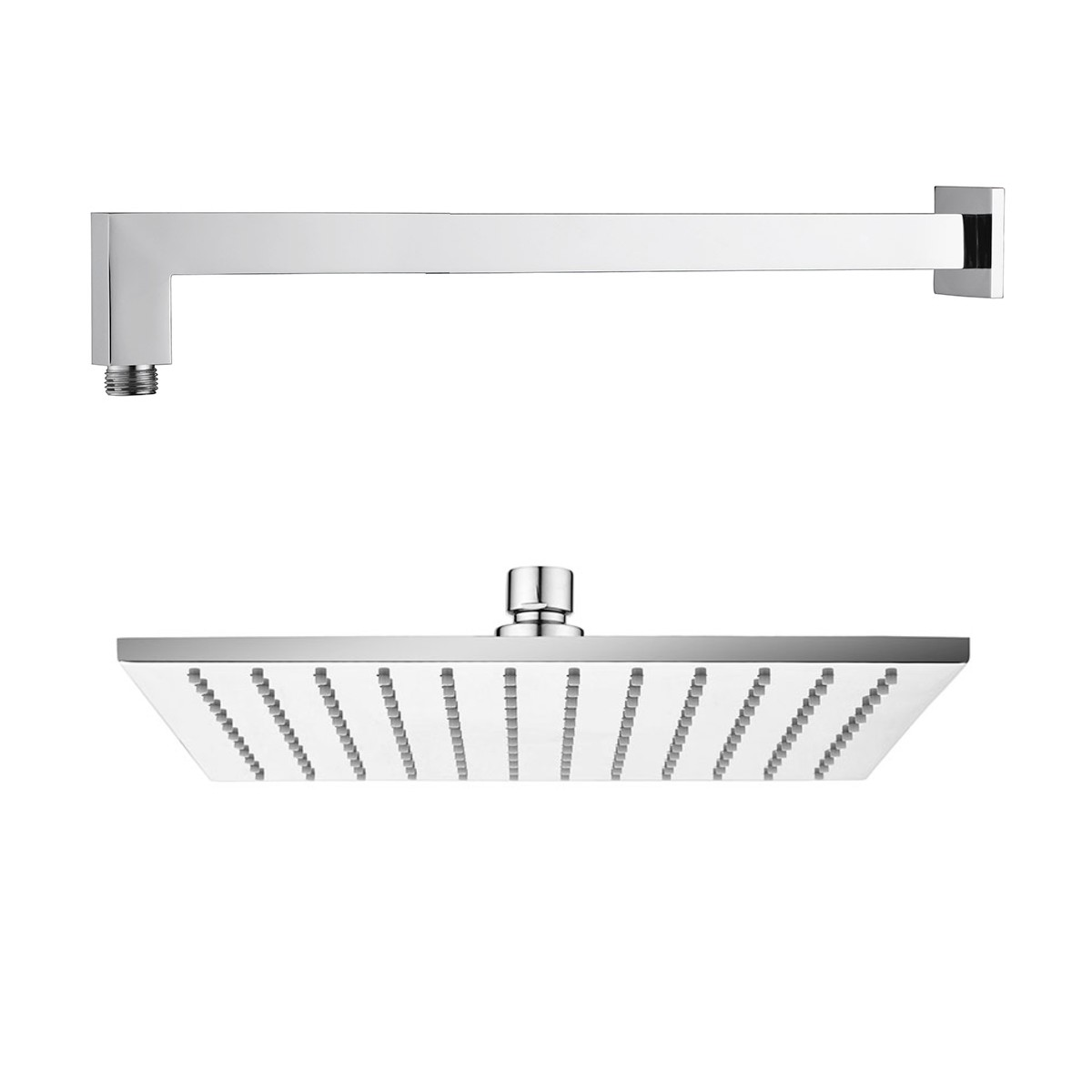 Wall Arm & Shower Head Square