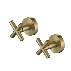 Wall Top Assemblies Brushed Bronze