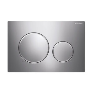 Geberit Sigma20 Round Button Flush Plate Chrome