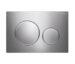 Geberit Sigma20 Round Button Flush Plate Chrome