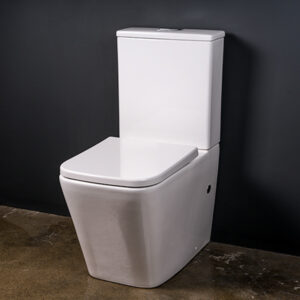 rimless toilet suite, close coupled toilet suite