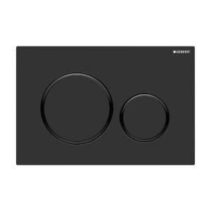 Geberit Sigma20 Matte Black Flush Plate