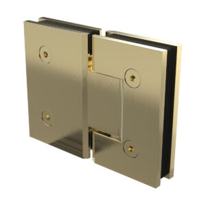 Brushed Gold Purity Glass to Glass Shower Hinge