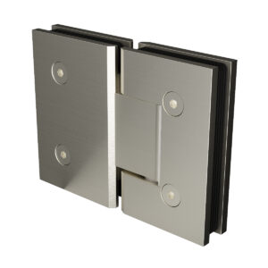 Brushed Nickel Purity Glass to Glass Shower Hinge