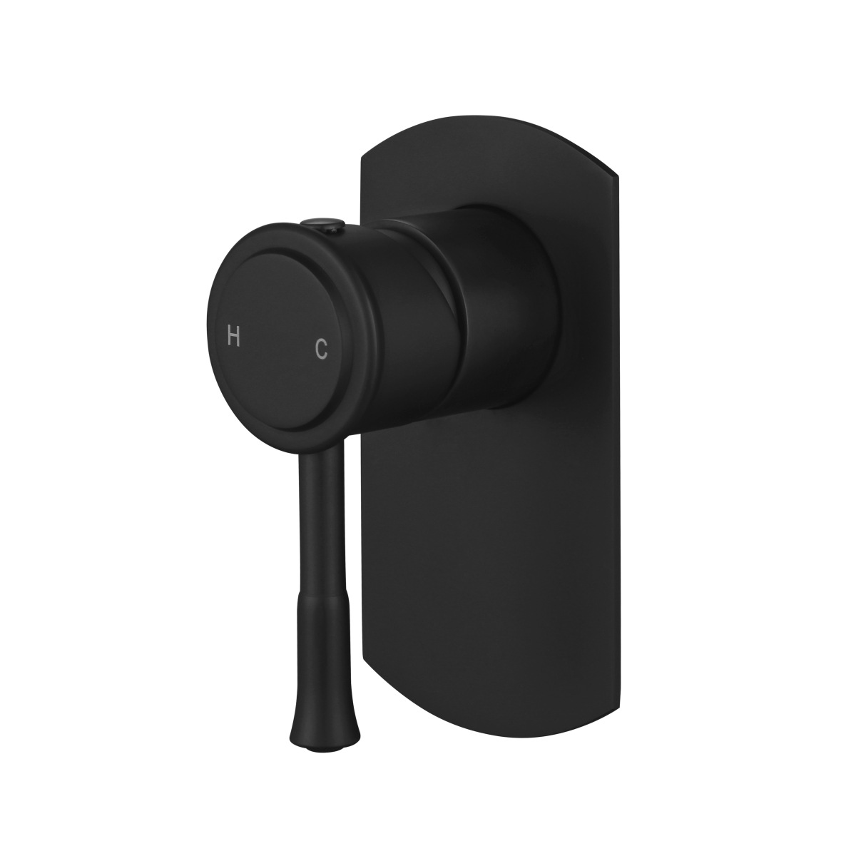 Montpellier Traditional Wall Mixer Matte Black