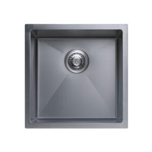 Xenia Palermo Nano Silver Single Kitchen Sink